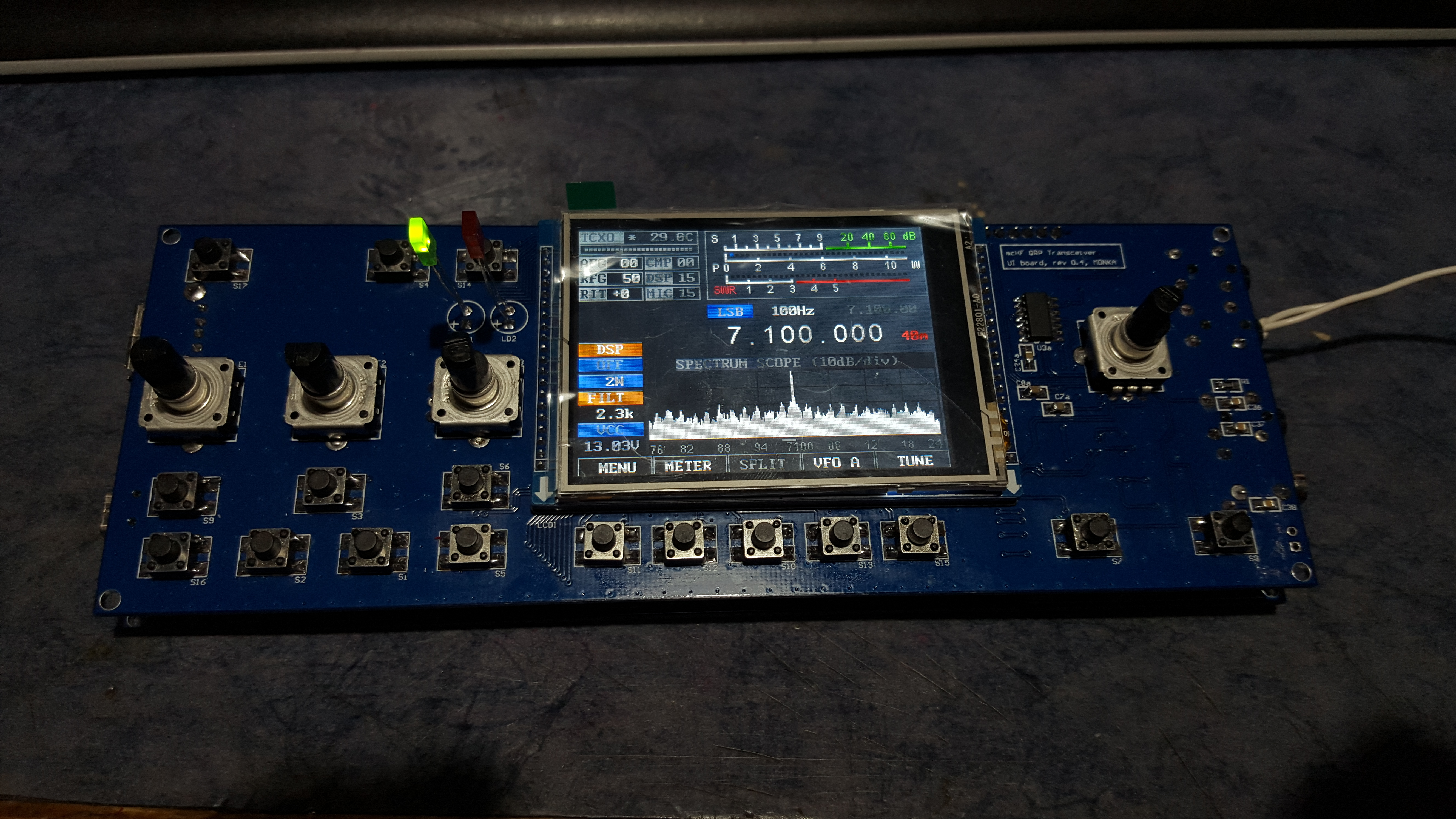 mcHF with fixed I2C Bus