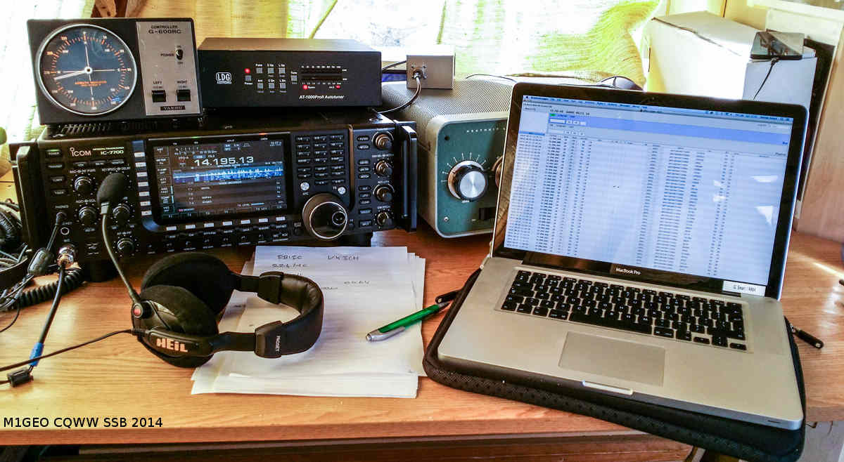 A typical portable station