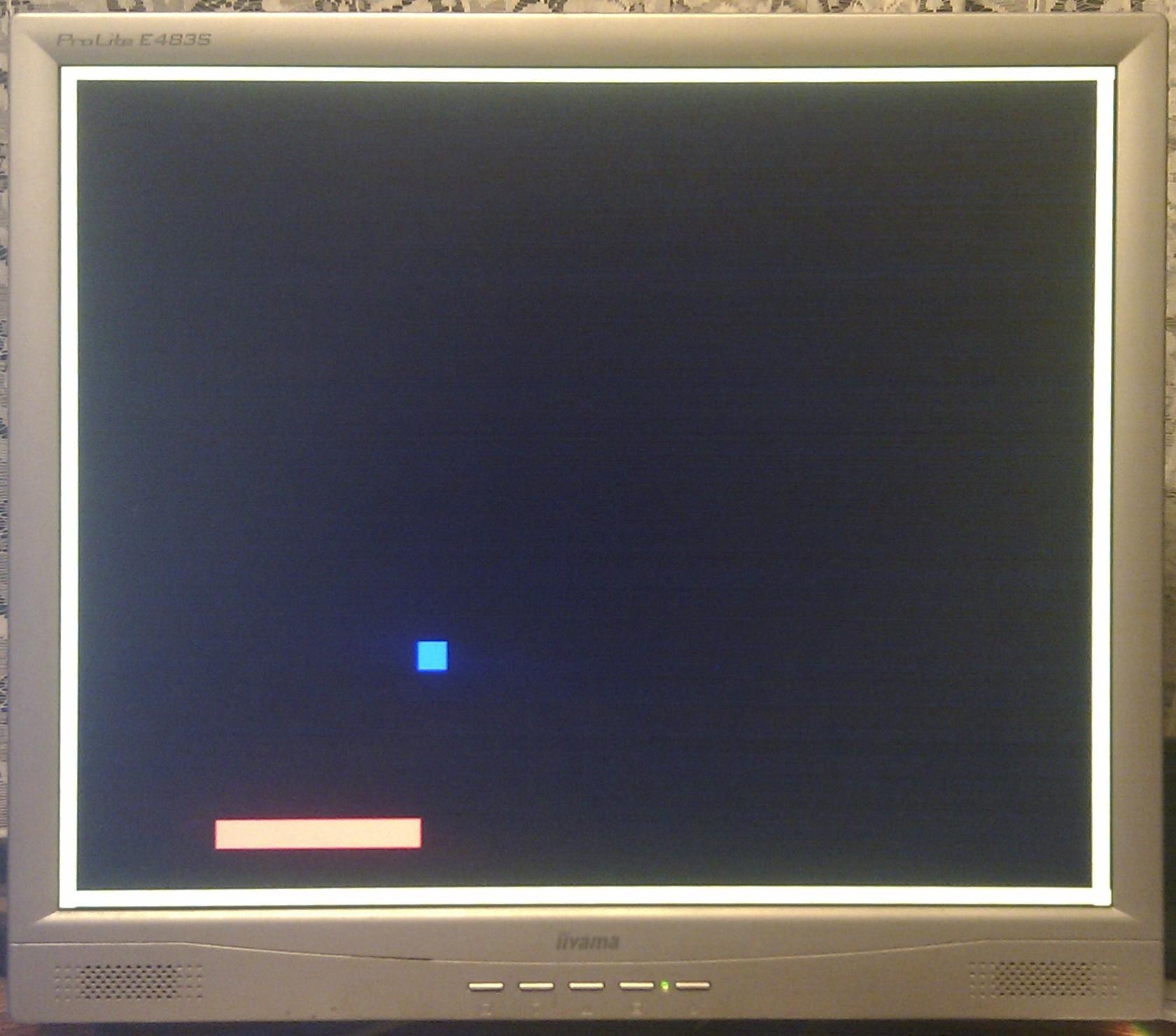 FPGA Pong Game – George Smart – M1GEO