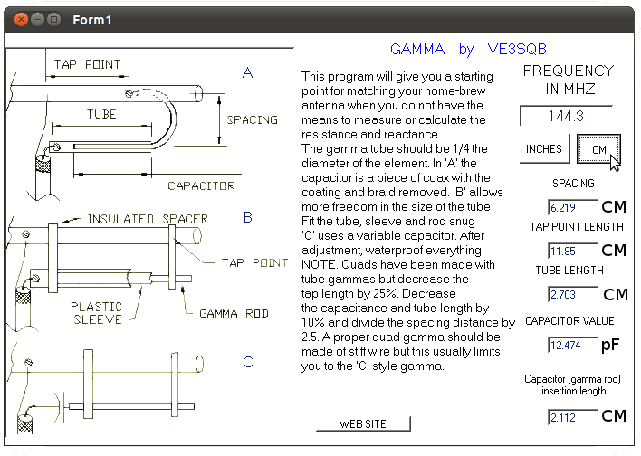 Gamma network Design