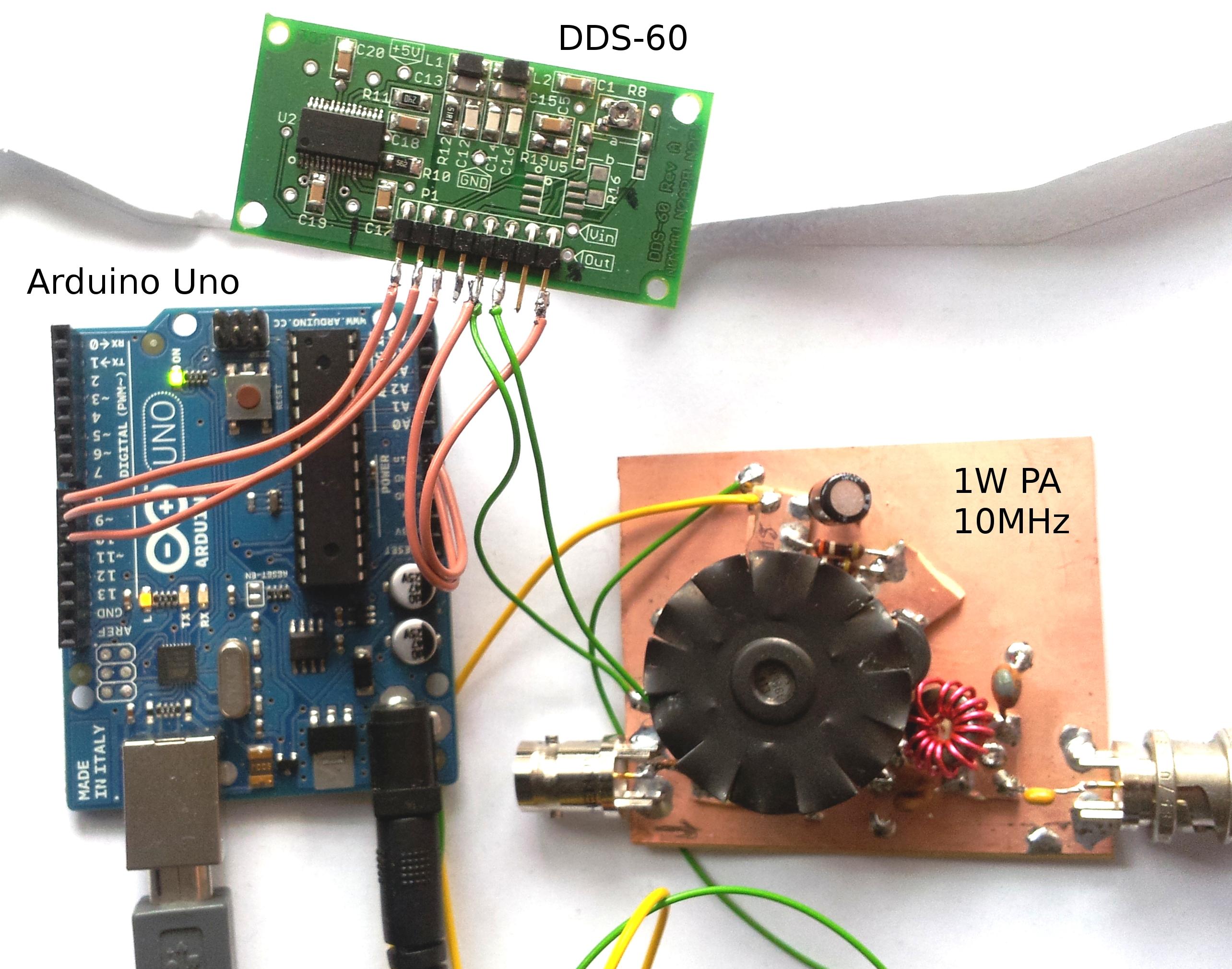 Arduino QRSS Hardware