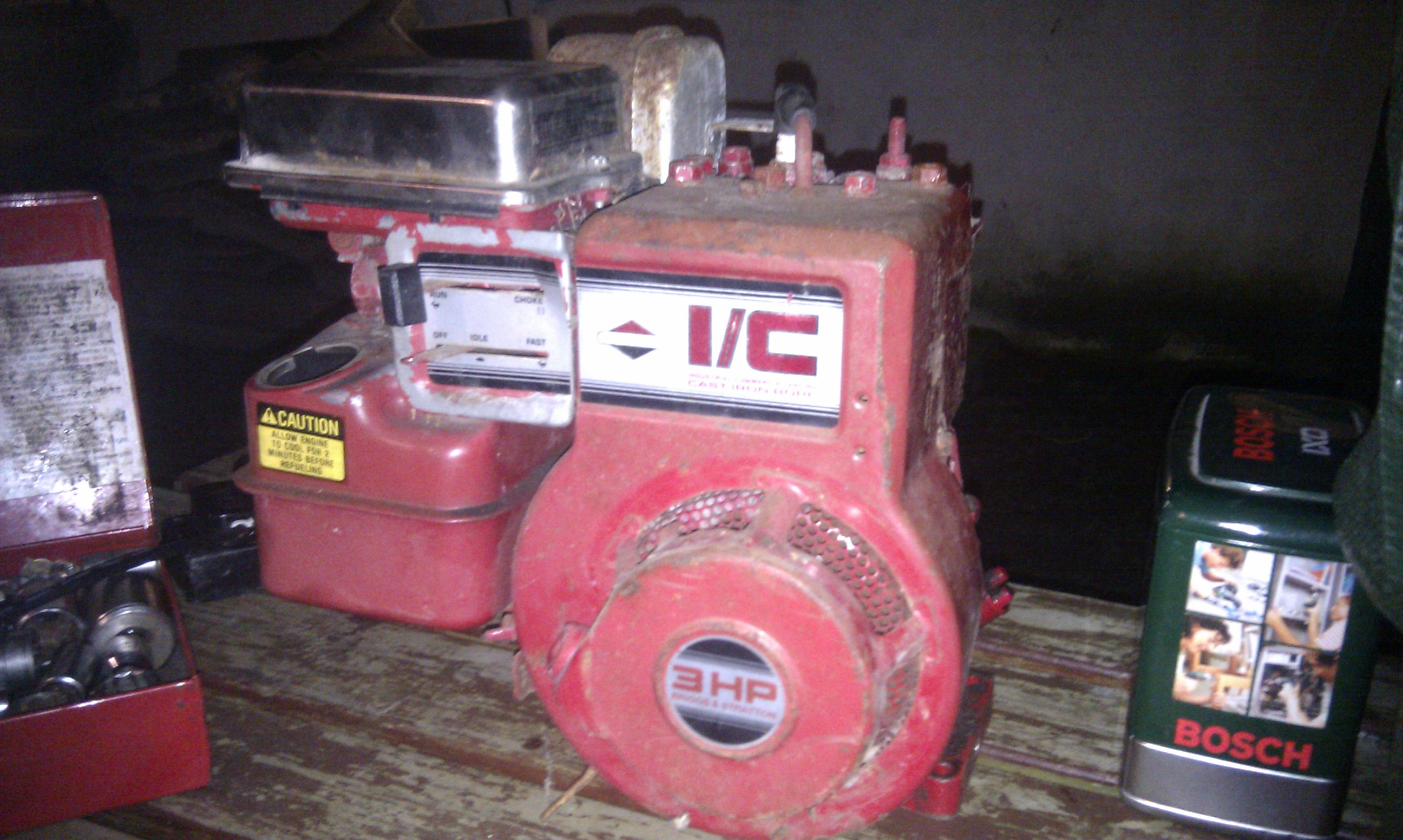 3HP I/C Briggs & Stratton