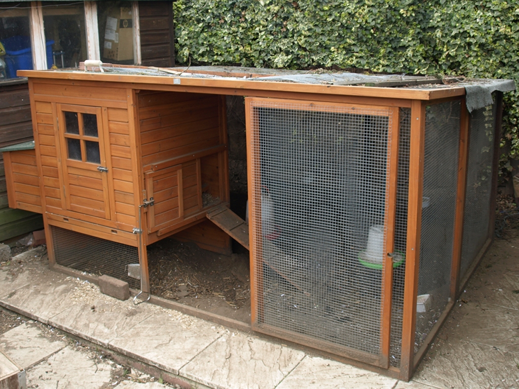 Mark 2 Chicken Coop that Dad and I extended