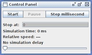 Cooja Simulation Control