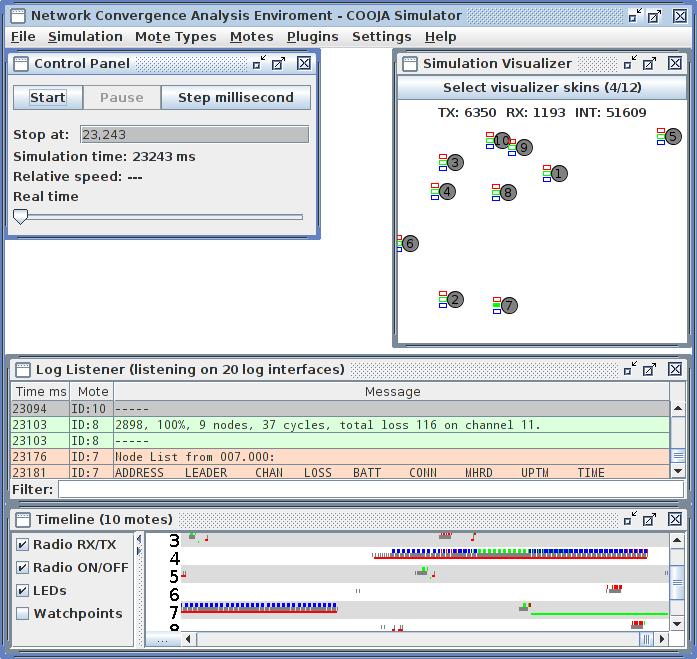 Cooja Simulation Environment