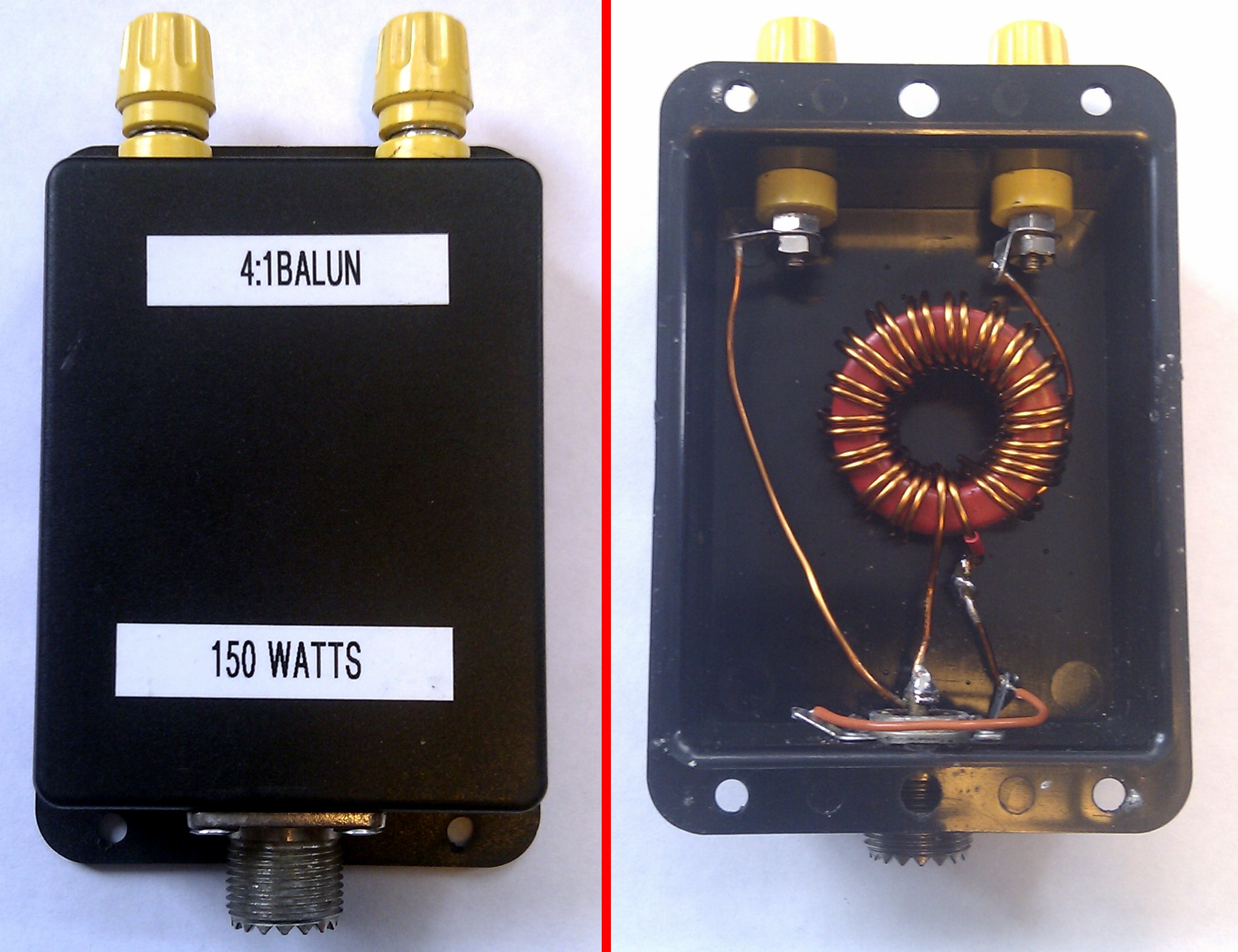 My Homebrew 4:1 Balun