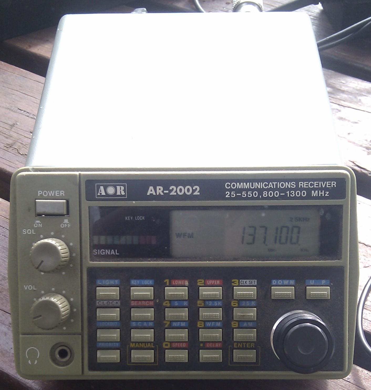 AOR-2002 Receiver