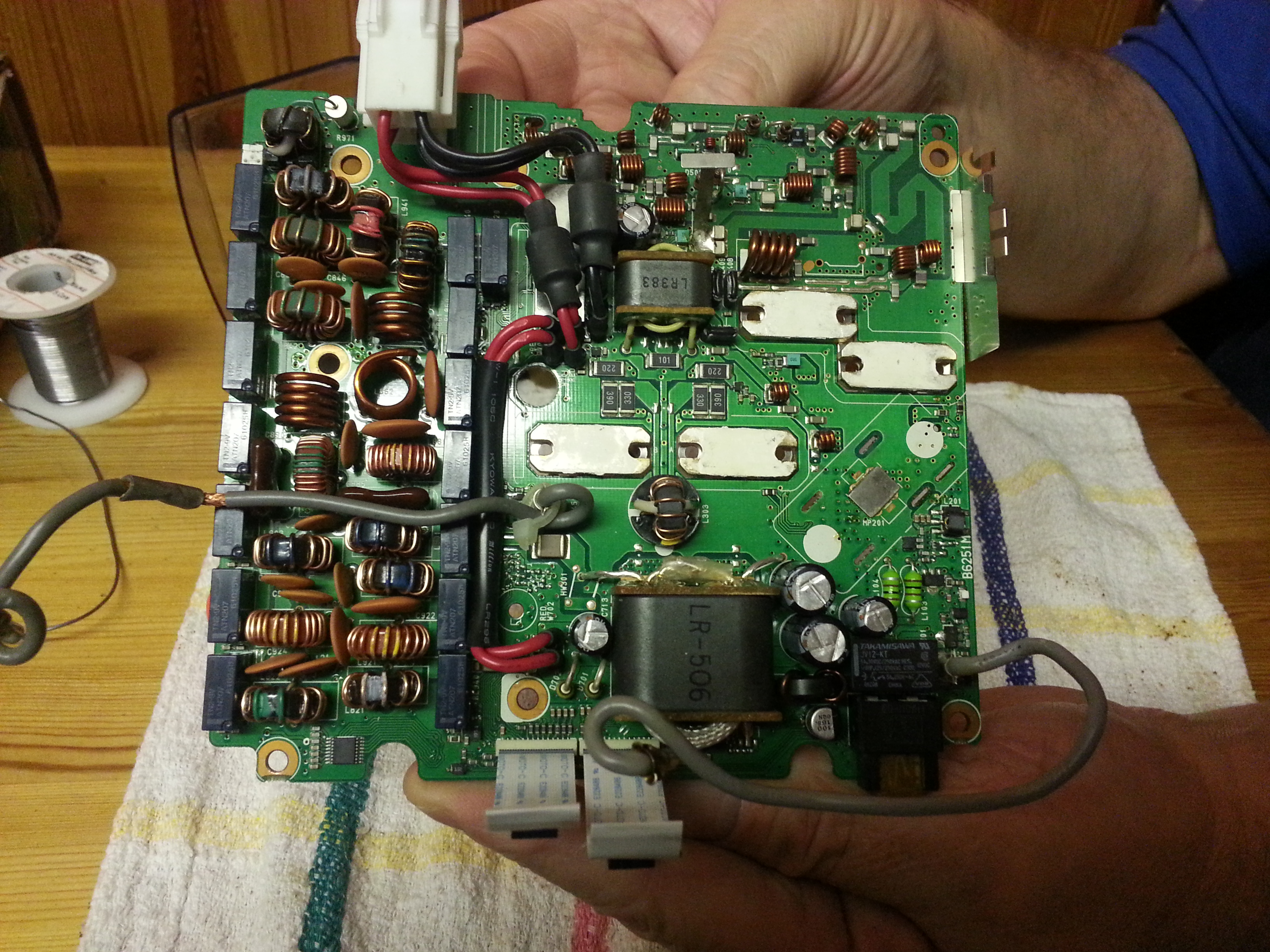 Inside the Icom 7000