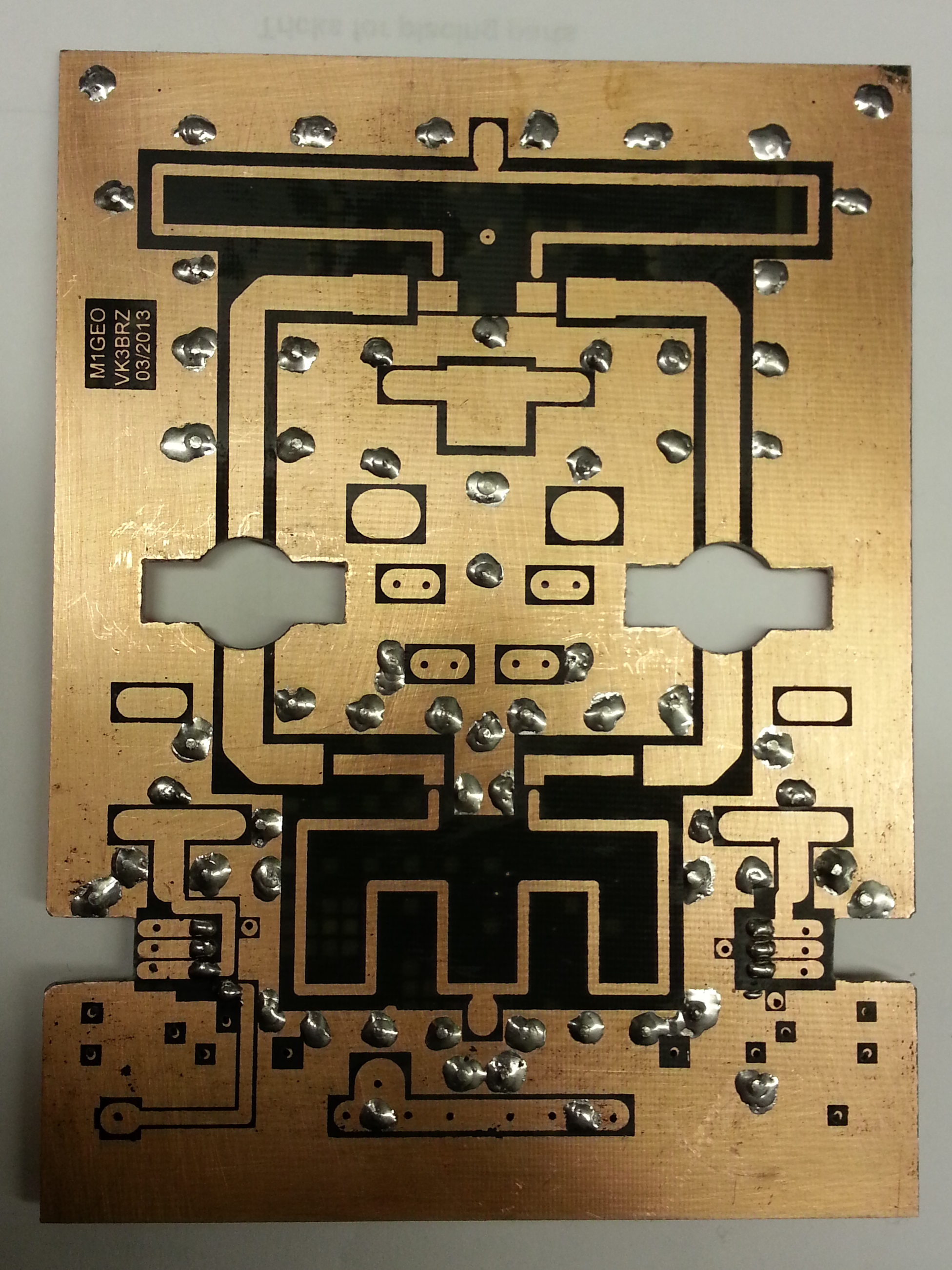 Making the PCB - Holes