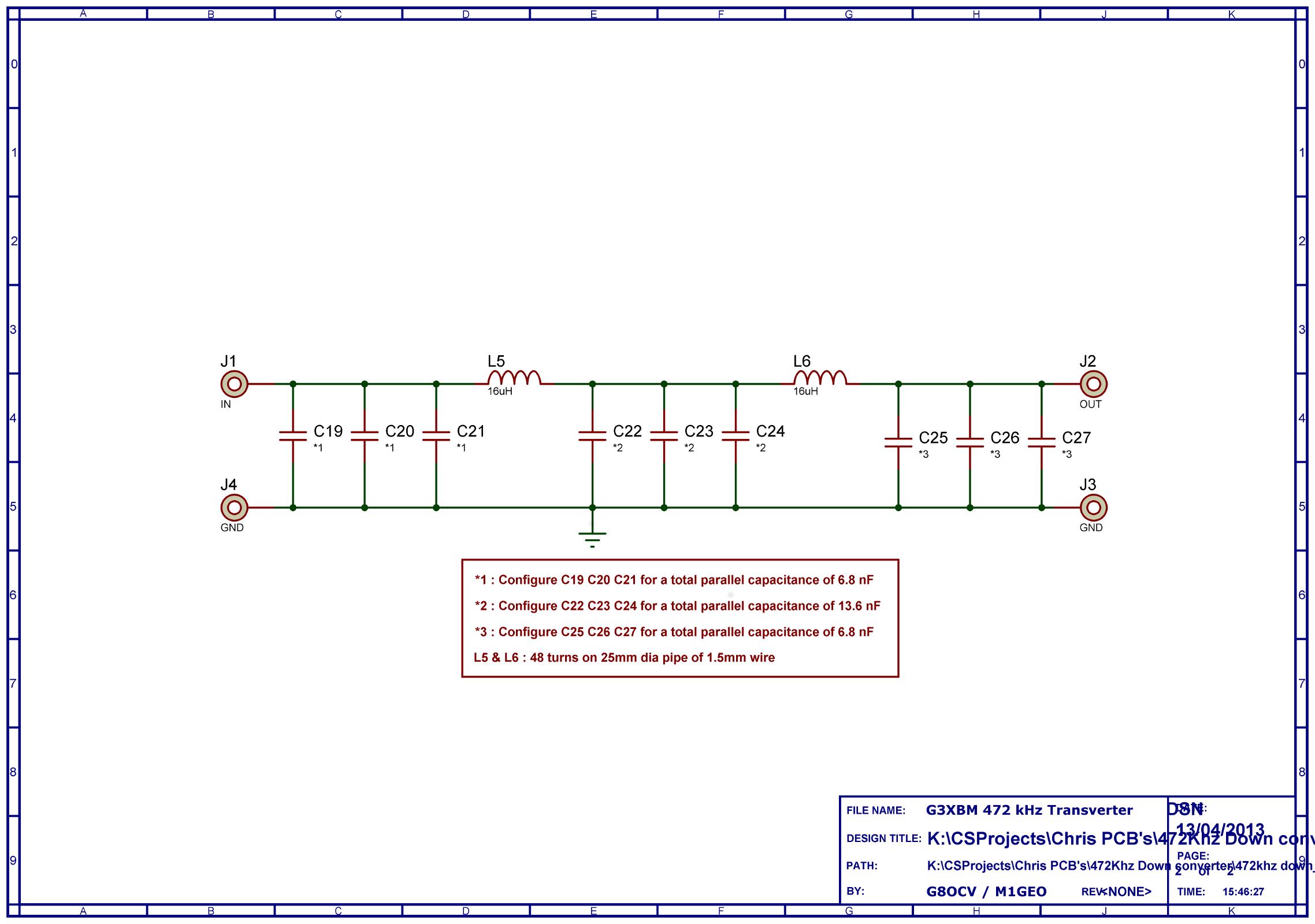 472 kHz Transverter