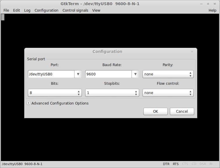 Bluetooth Programming Terminal Configuration