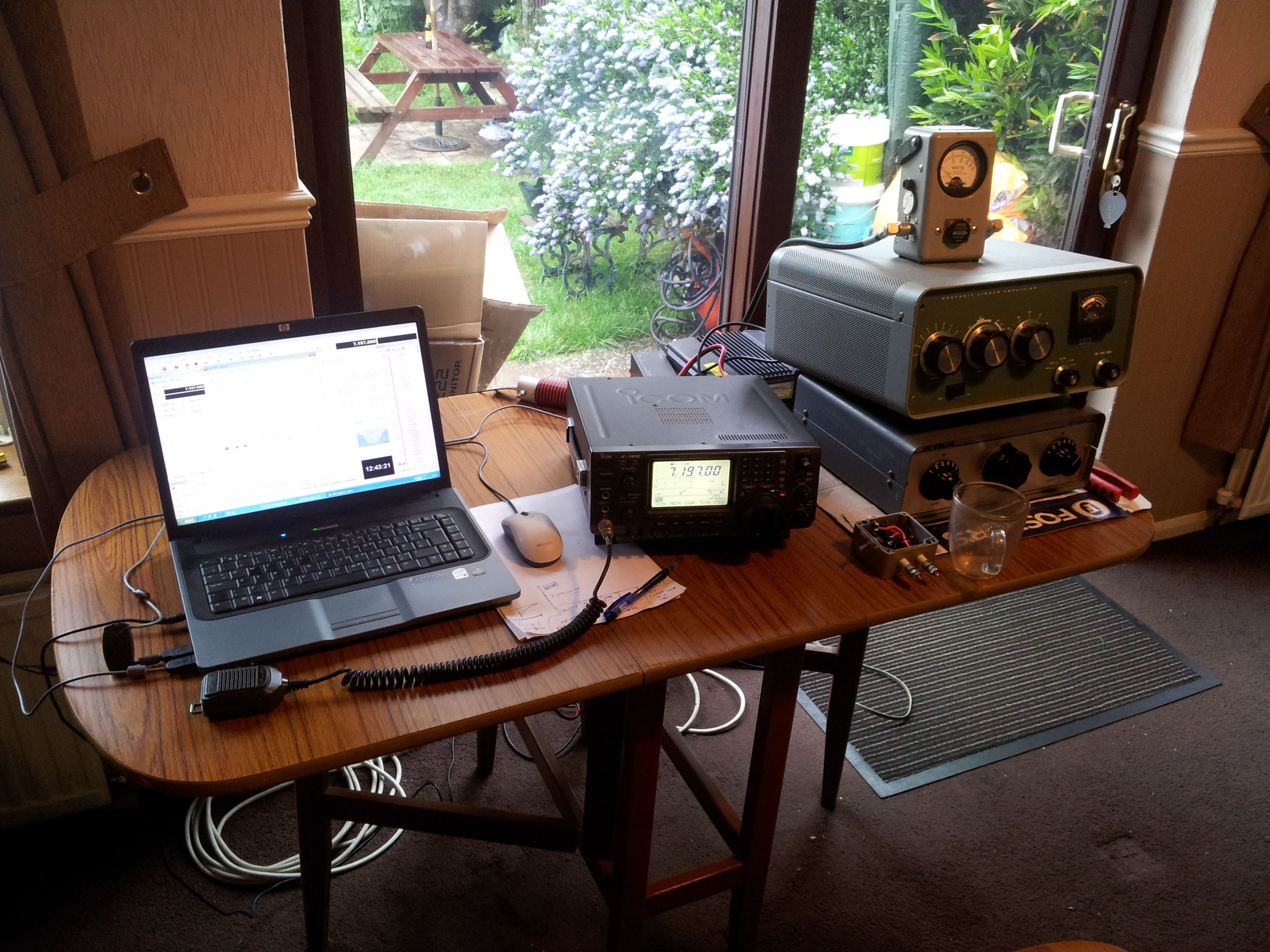 Amateur Radio Station for Queen's Diamond Jubilee MQ1GEO