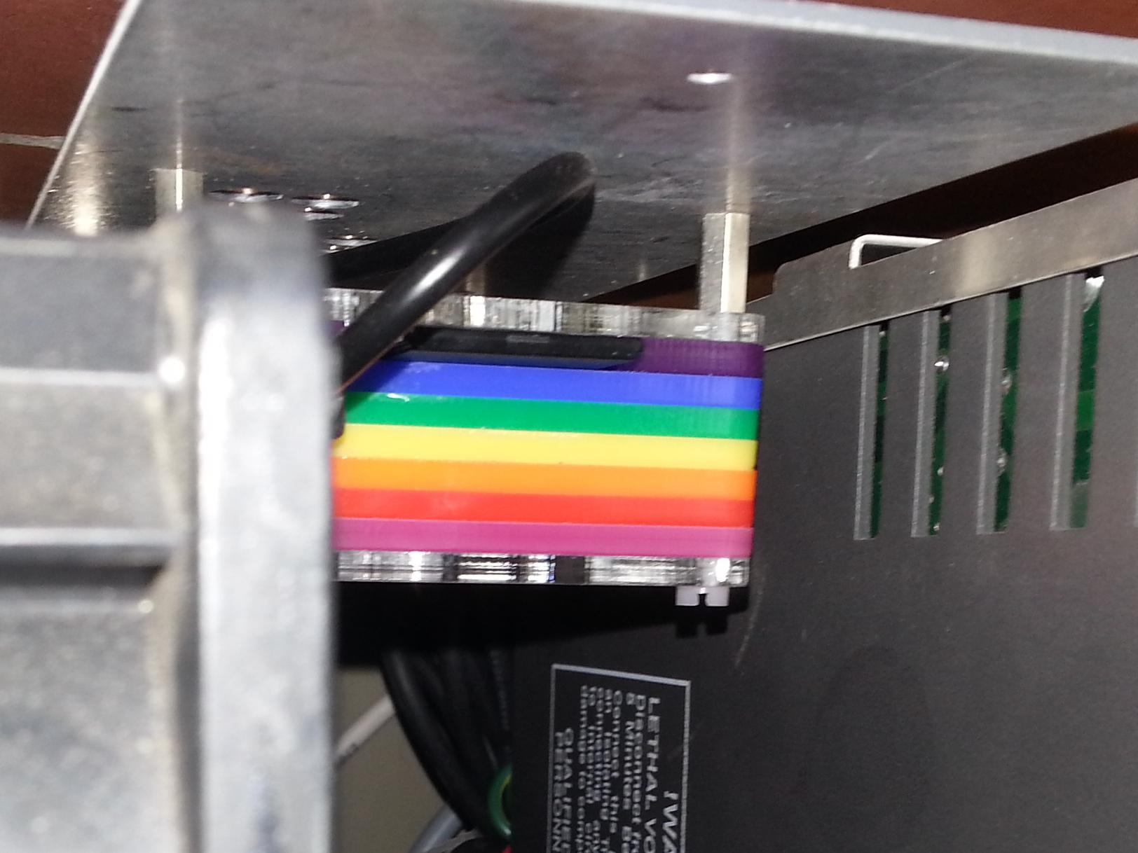 RPi inside T800