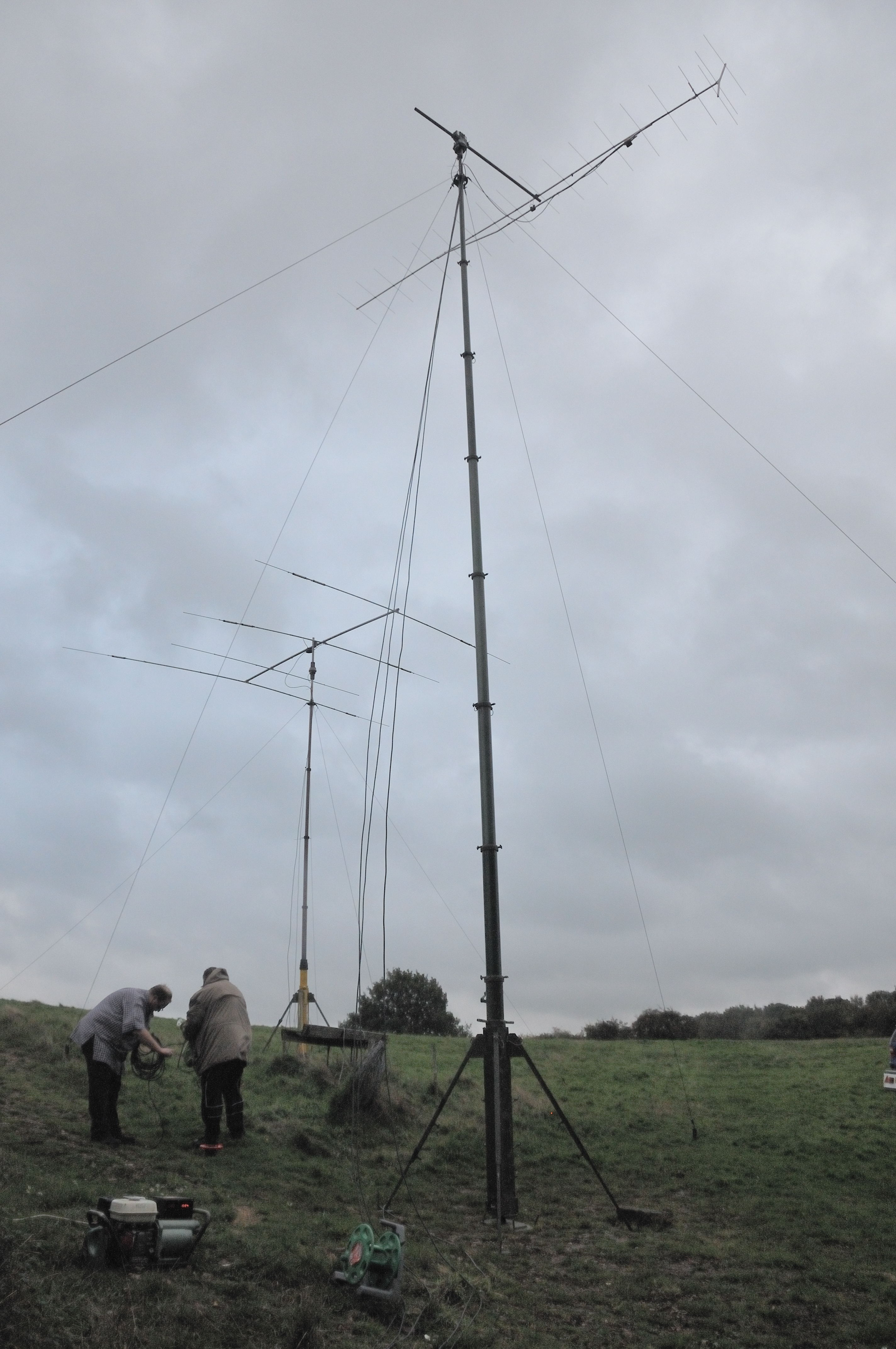 Pictures from CQWW 2013