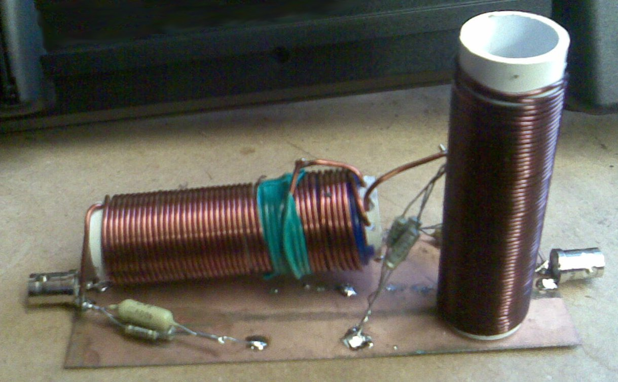 472 kHz Low Pass Filter Attempt