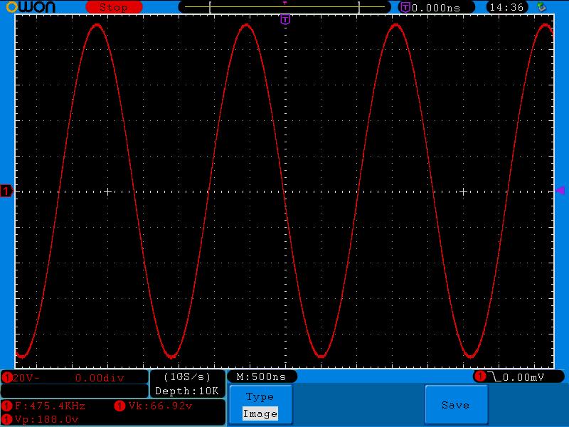 Square-wave PA output