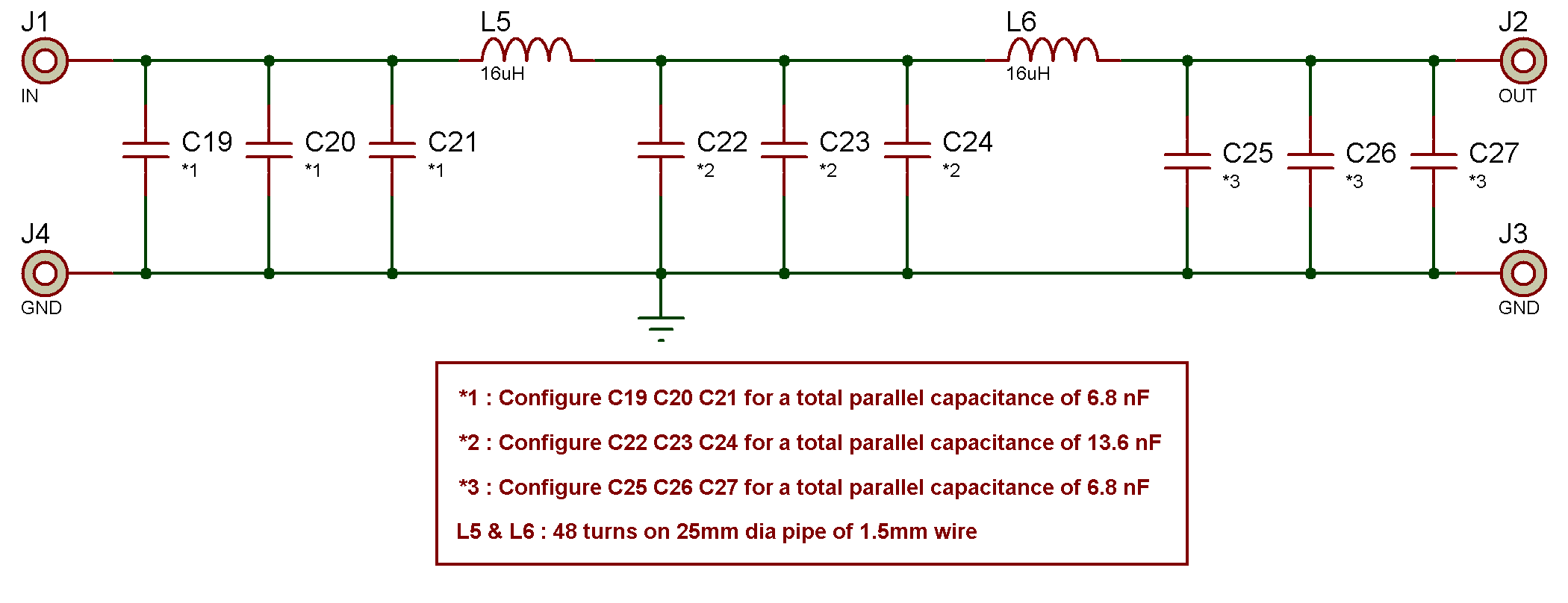 472 Khz Transmitter George Smart M1geo Capacitor Fourthorder Lowpass Filter Circuit Diagram Low Pass Schematic Mk 2