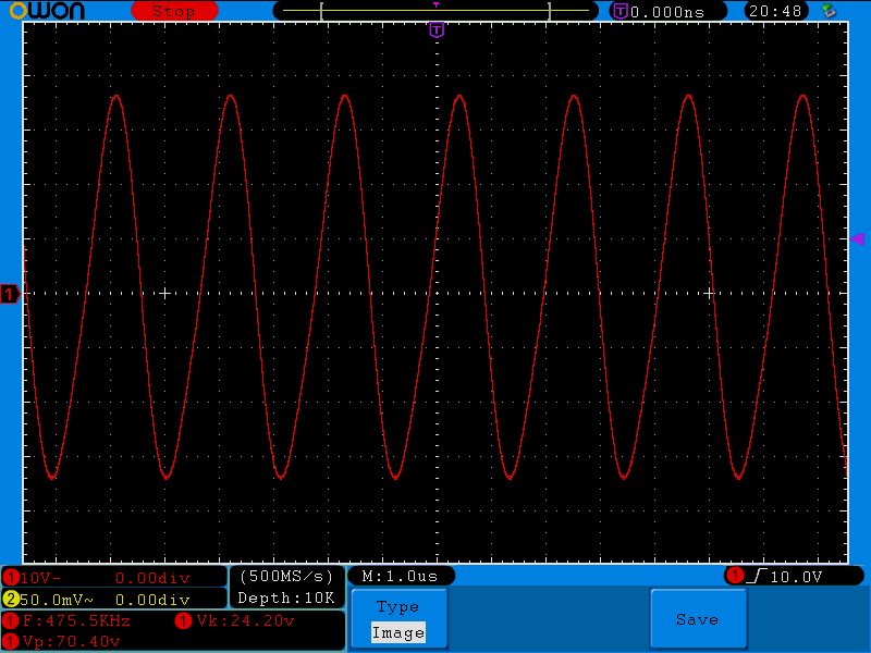 Square-wave PA output