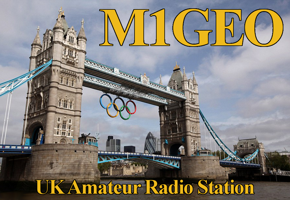 Front of my QSL Card