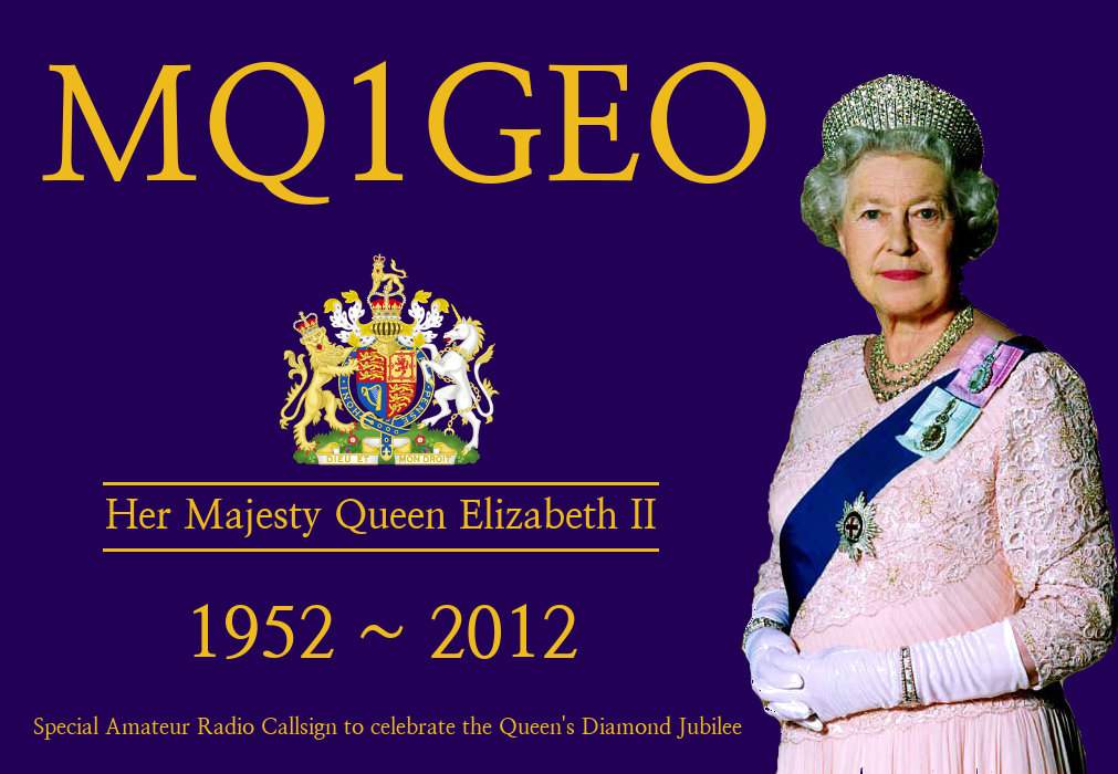 Queen's Jubilee QSL Card