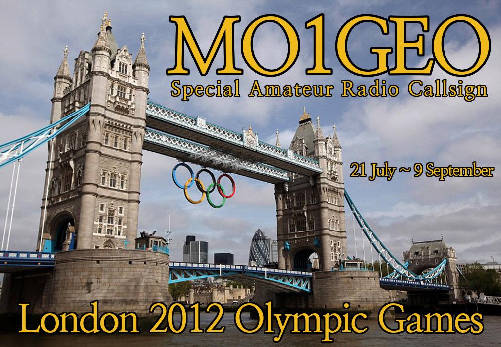 London Olympics 2012 QSL Card