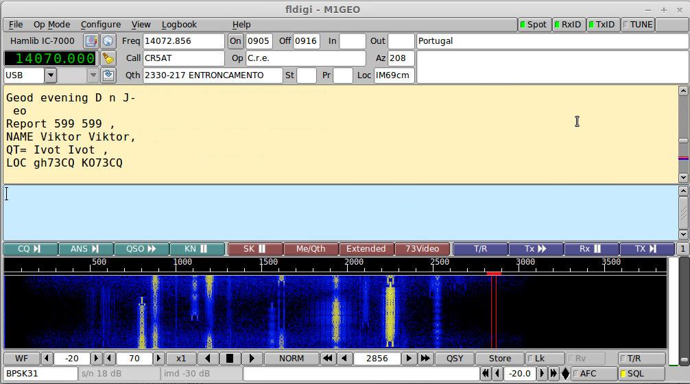 Ham Radio Linux – George Smart – M1GEO
