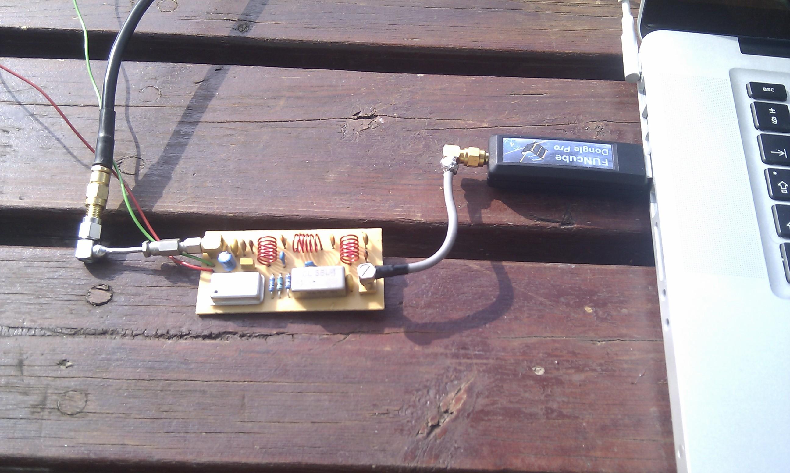 FCD HF Up-converter