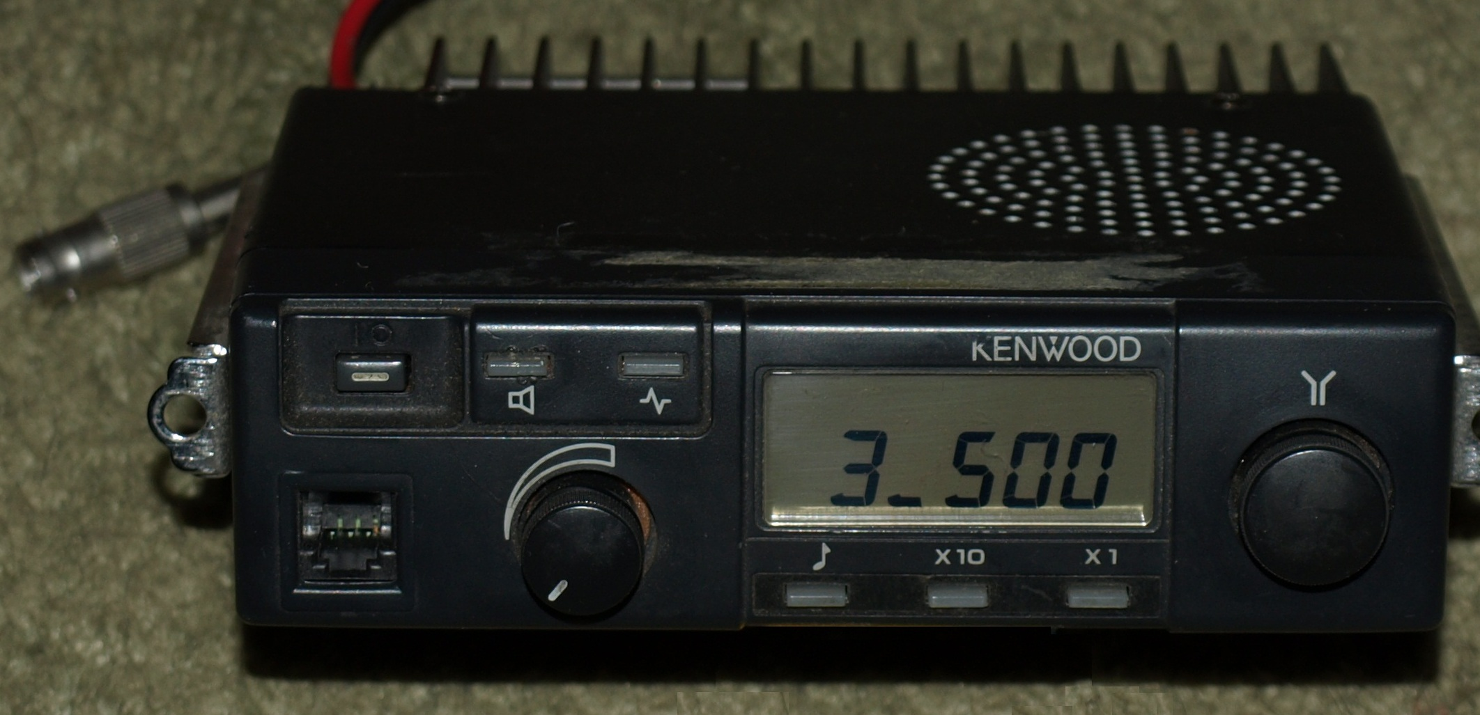 The Kenwood TK-09(T4) after conversion