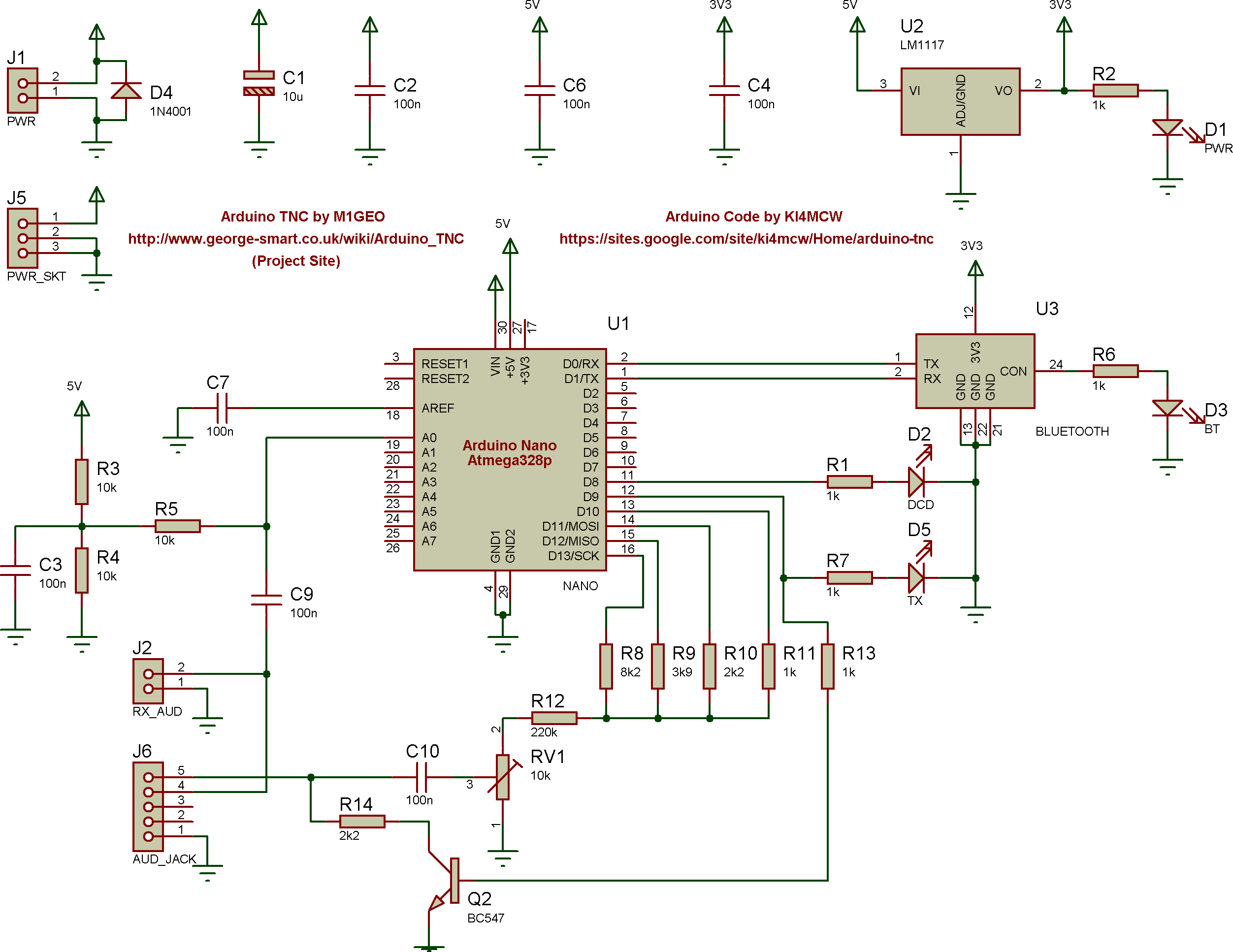 Arduino AX 25 TNC – George Smart – M1GEO