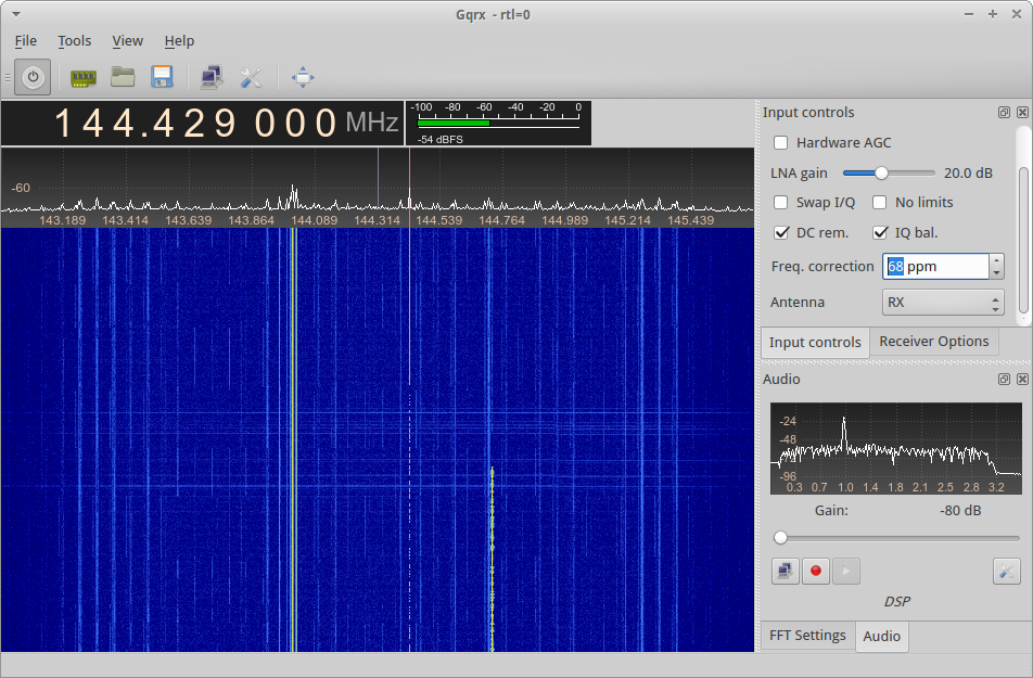 Meteor Scatter Reception on RTL-SDR – George Smart – M1GEO