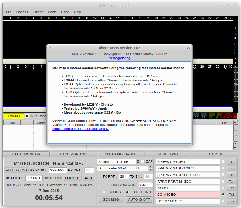 MSHV 1.02 Built on Xubuntu