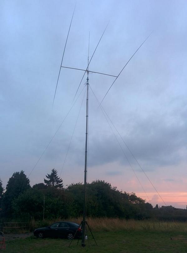 14 MHz Homebrew Yagi