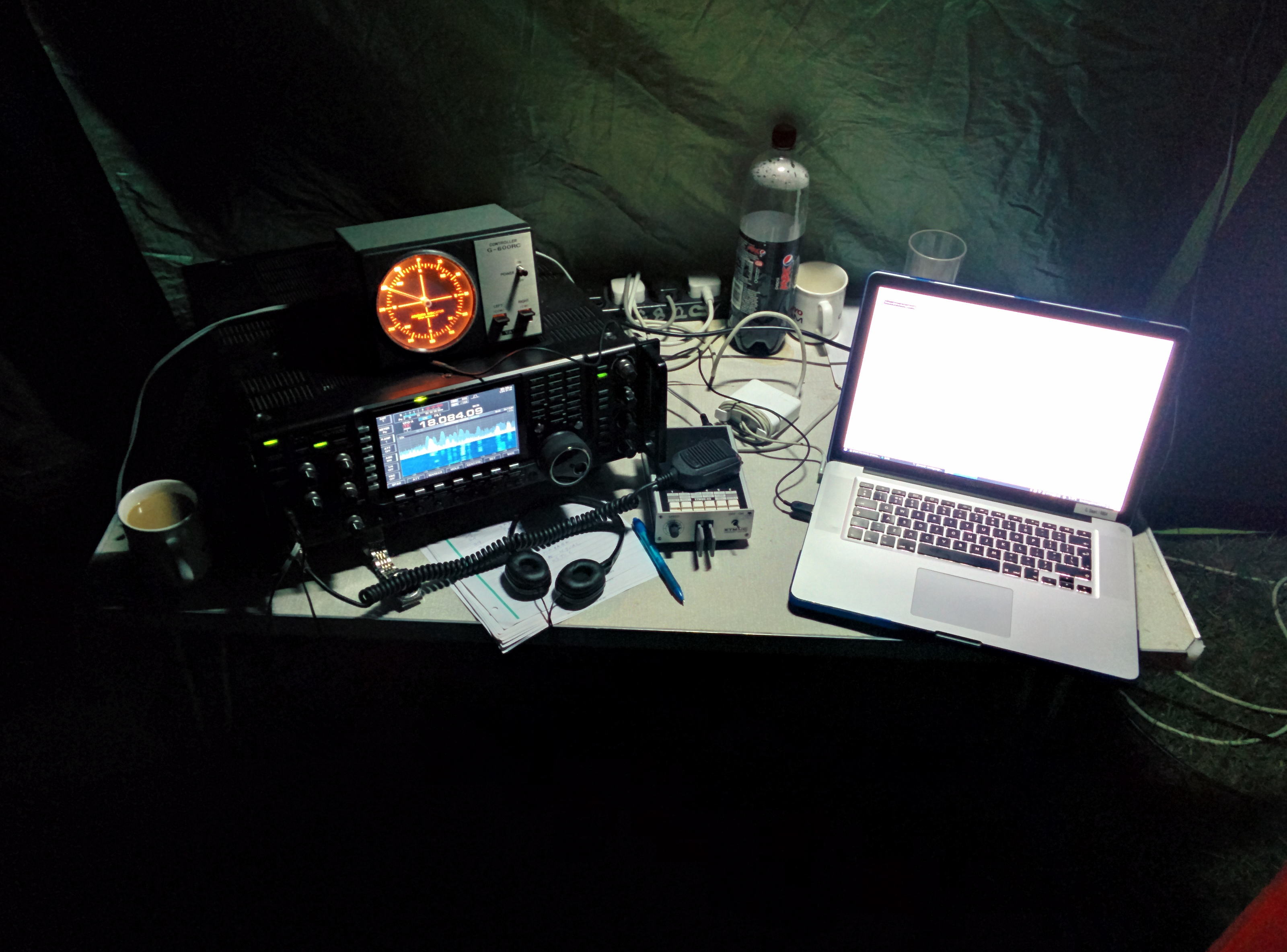 18 MHz Station