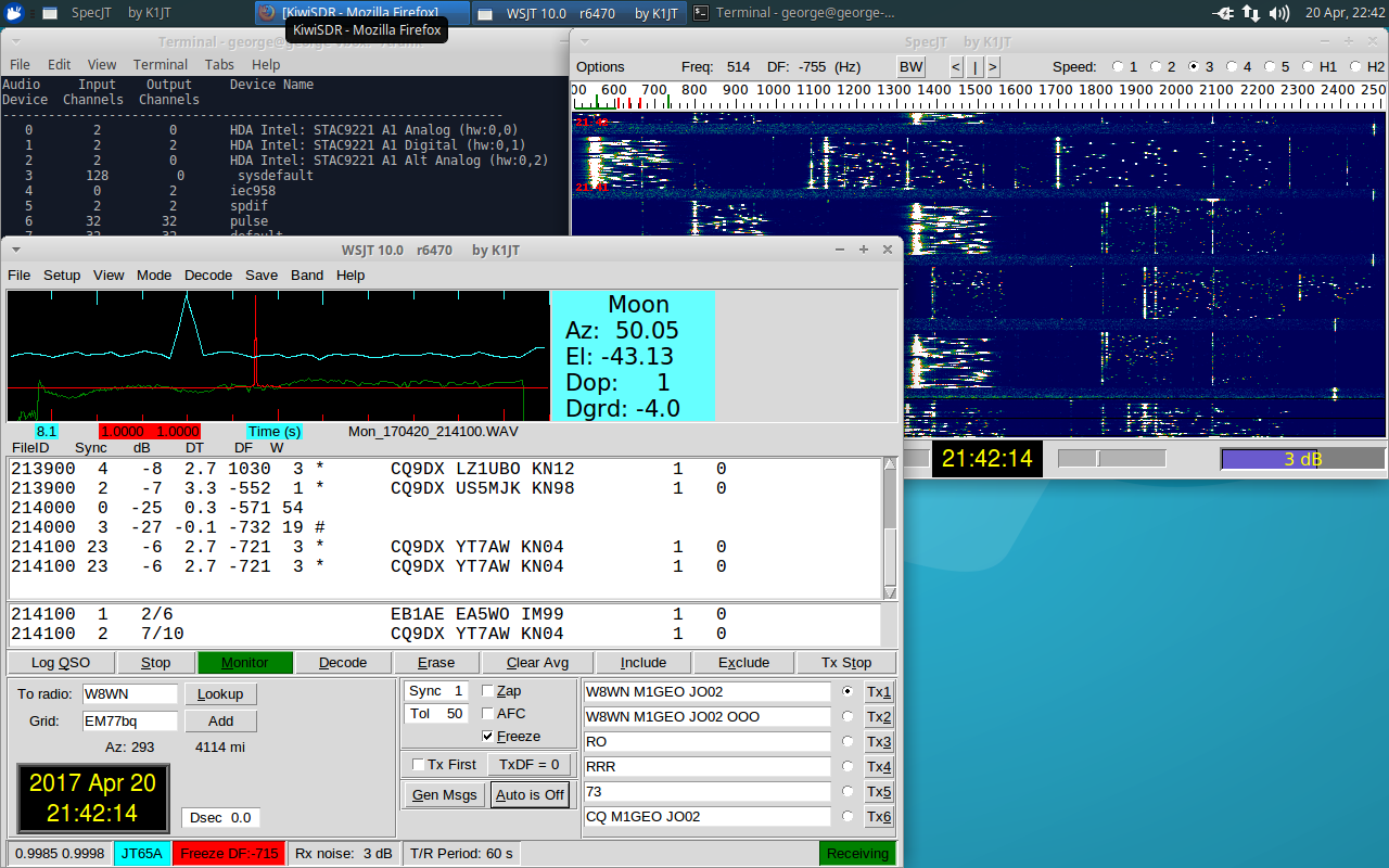 Compiling WSJT 10 for Linux – George Smart – M1GEO