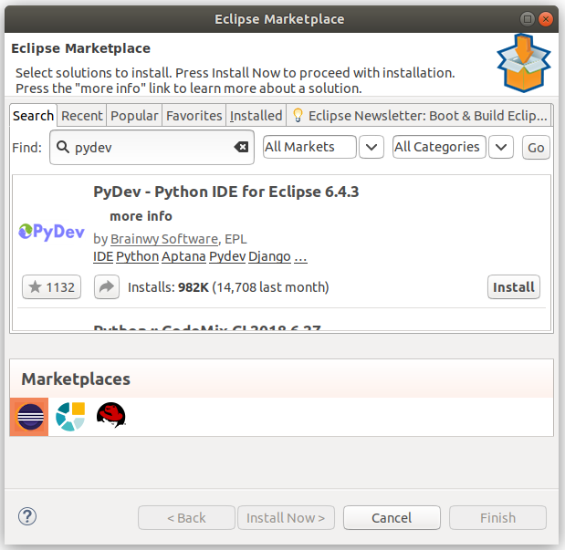 Installing Eclipse IDE and PyDev onto Ubuntu 18 04 – George