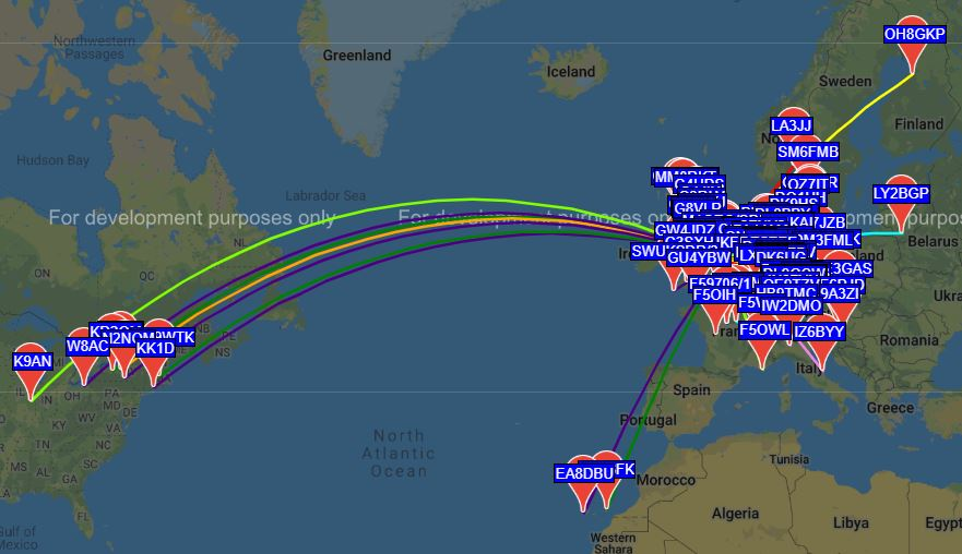 WSPR from the Car – George Smart – M1GEO